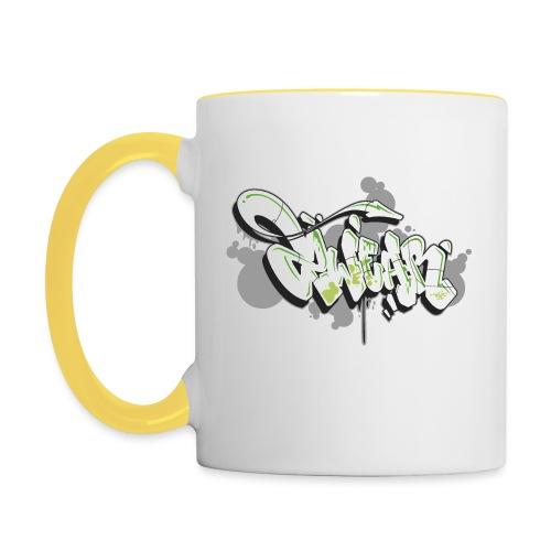 Mesk 2Wear graffiti style 7up ver02 - Tofarvet krus