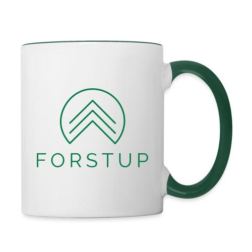 FORSTUP - Wir pflanzen Wald! - Tasse zweifarbig