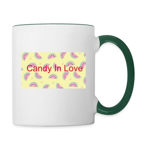 Merchandise Candy In Love - Mok tweekleurig