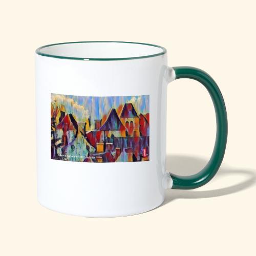 Saint vincent abstract - Mug contrasté
