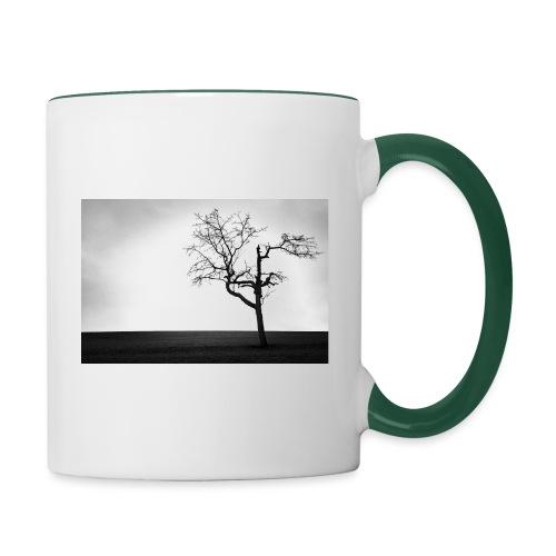 Kirschbaum - Tasse zweifarbig