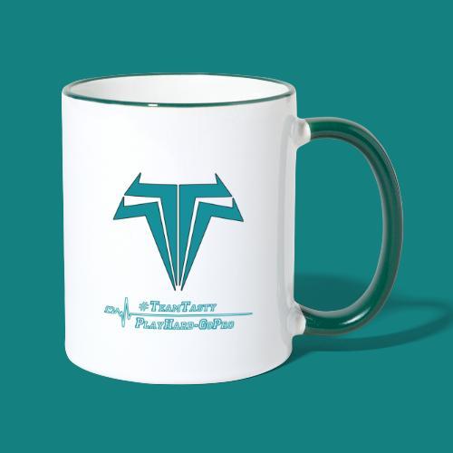 TastyTony ~ TeamTasty - Tasse zweifarbig