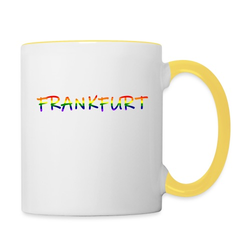 Frankfurt Rainbow #1 - Tasse zweifarbig