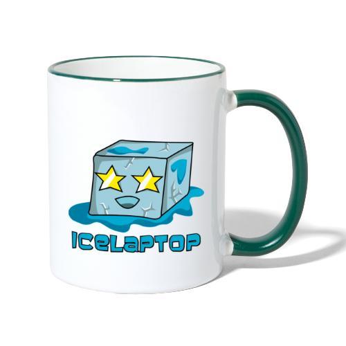 icelaptop - Tasse zweifarbig
