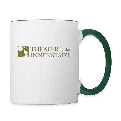Theater In der Innenstadt Logo - Tasse zweifarbig