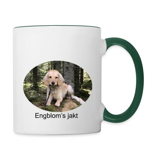 Engblom's jakt (Eichel) - Tvåfärgad mugg