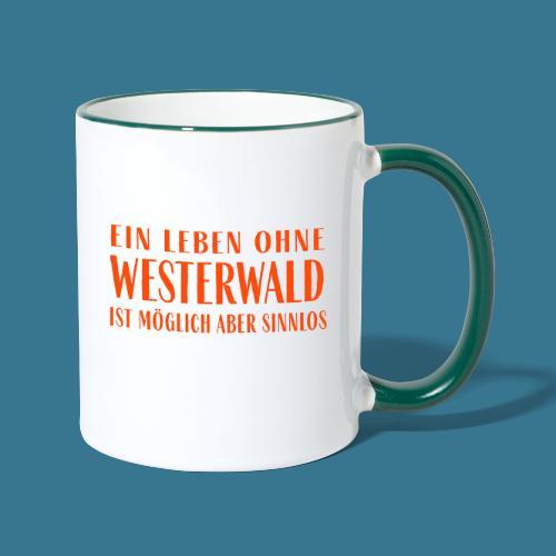 Westerwaldleben. - Tasse zweifarbig