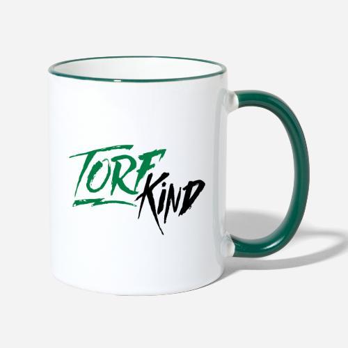 TorfKind - Tasse zweifarbig