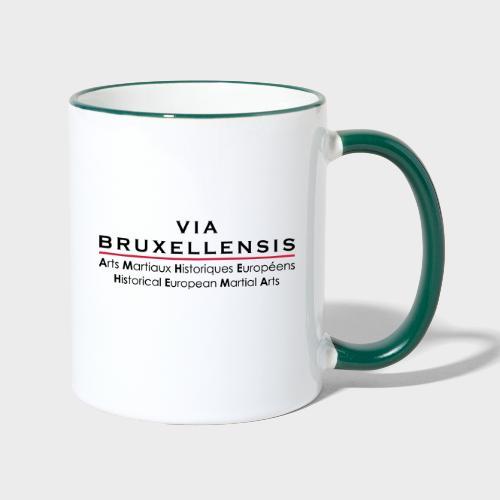 ViaBxl - Mug contrasté