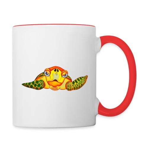 Angry Turtle Fluo - Mug contrasté