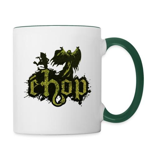 ehop nouveau logo png - Mug contrasté