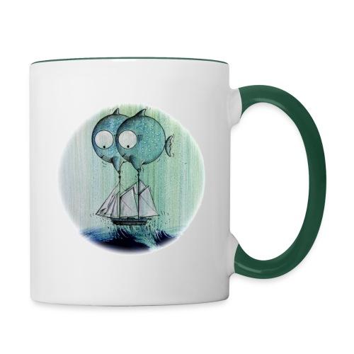 Poissons sauveteurs - Mug contrasté