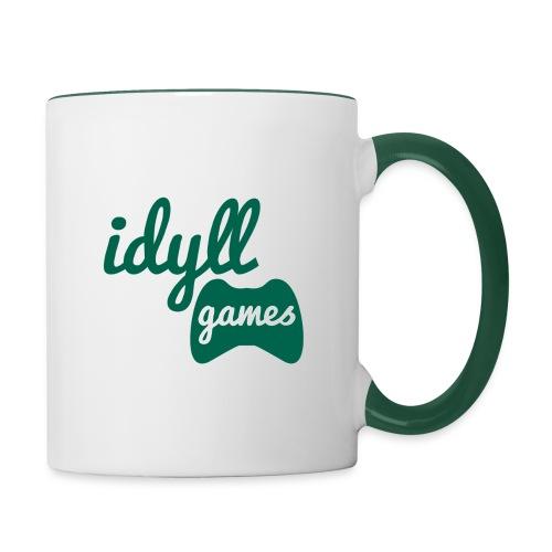 New IdyllGames Logo Trans - Contrasting Mug