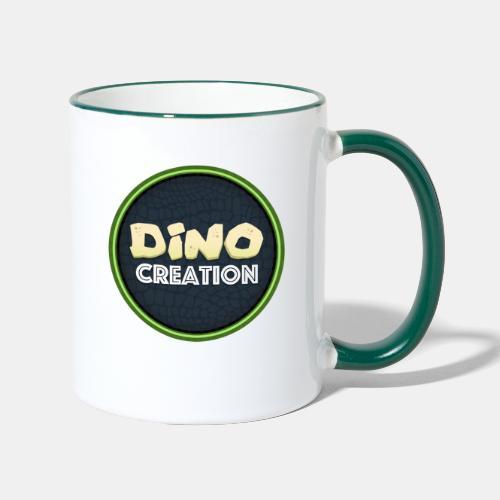 Dino Creation Logo - Contrasting Mug