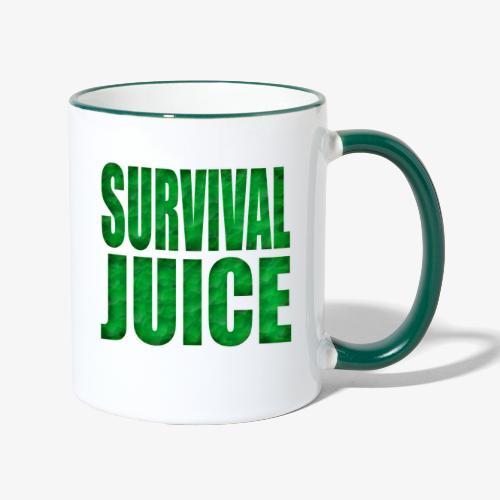 Survival Juice - Taza en dos colores