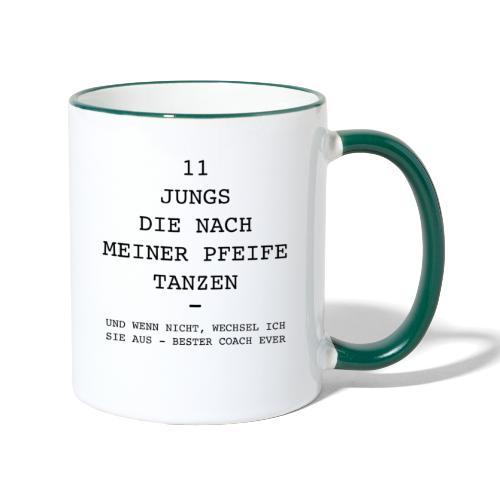 Pfeife COACH - Tasse zweifarbig