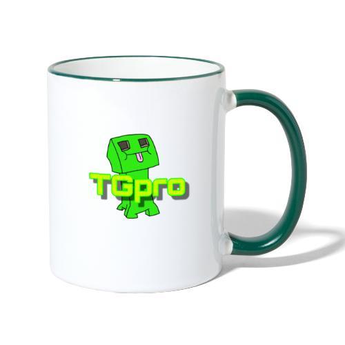 TGpro Creeper logo - Contrasting Mug