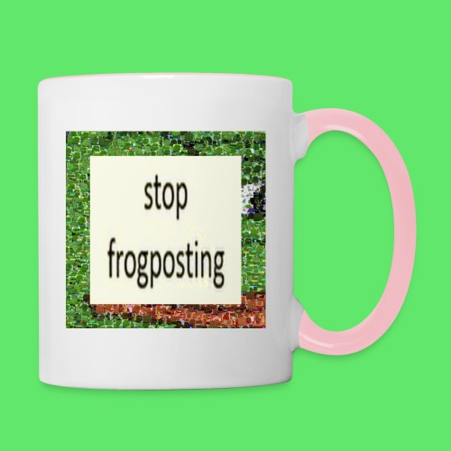 Frogposter - Contrasting Mug