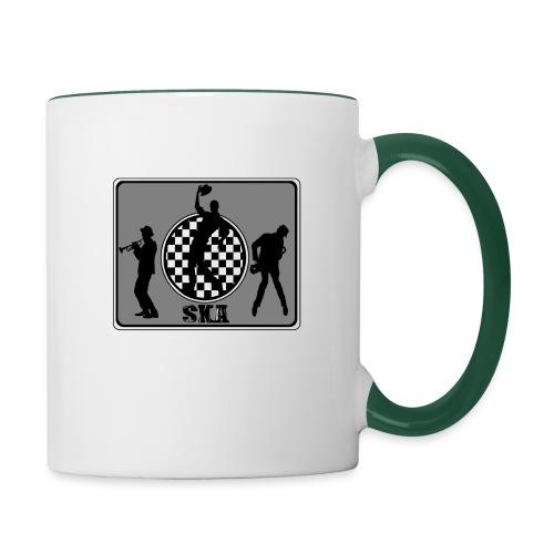 ska groupe - Mug contrasté