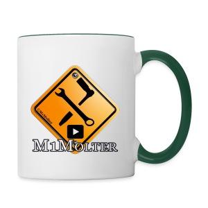 M1Molter logo - Tasse zweifarbig