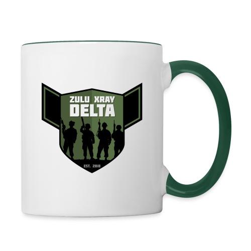 Zulu X-Ray Delta Logo - Contrasting Mug
