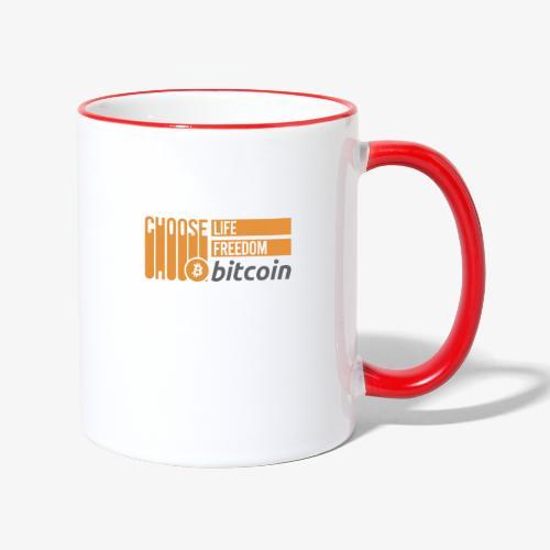 Bitcoin - Mug contrasté