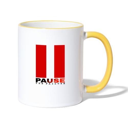 PAUSE THE FAILURE - Mug contrasté