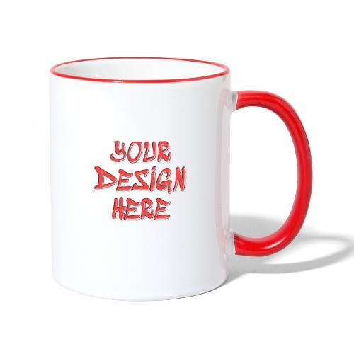 TextFX - Contrasting Mug