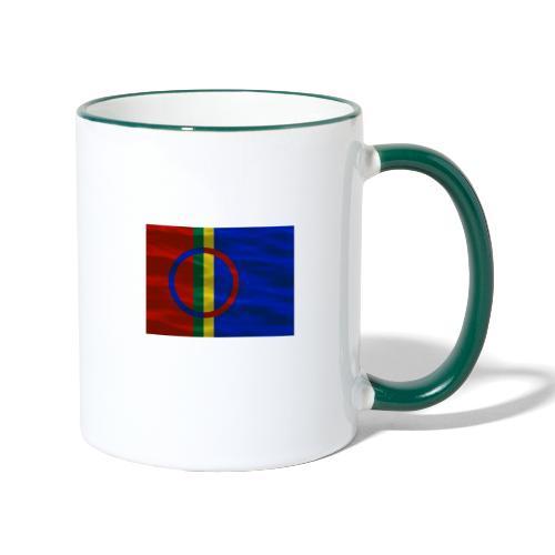Sapmi flag - Tofarget kopp
