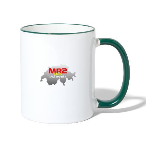 Logo MR2 Club Logo - Tasse zweifarbig