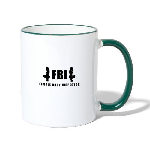 FBI - Tasse zweifarbig