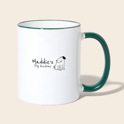 Académie des chiens de Maddie (noir) - Mug contrasté