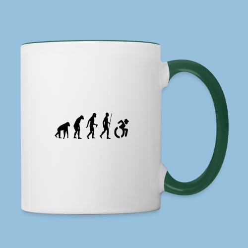 EvolutionWheelchair2 - Mok tweekleurig