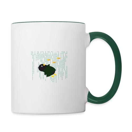 Pingouin Bullet Time - Mug contrasté
