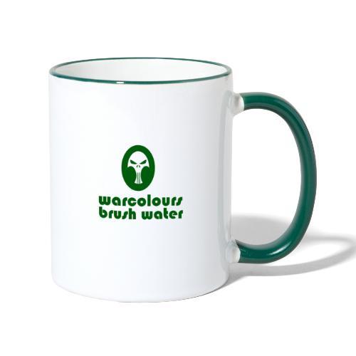 brush water - Contrasting Mug