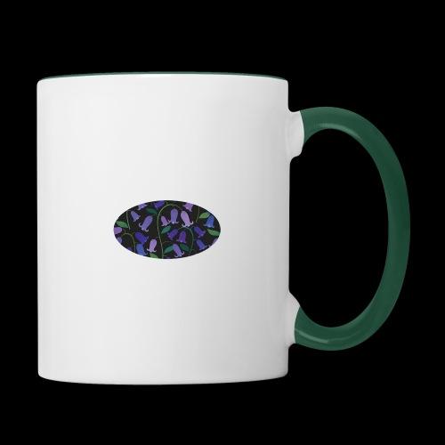 blue bells - Mug contrasté