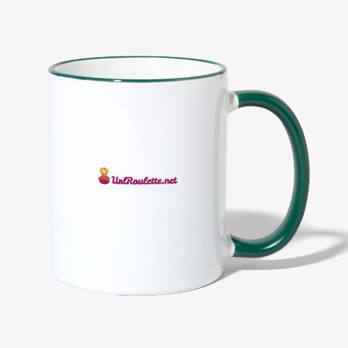 UrlRoulette Logo - Contrasting Mug