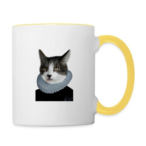 Noble Cat - Tasse zweifarbig