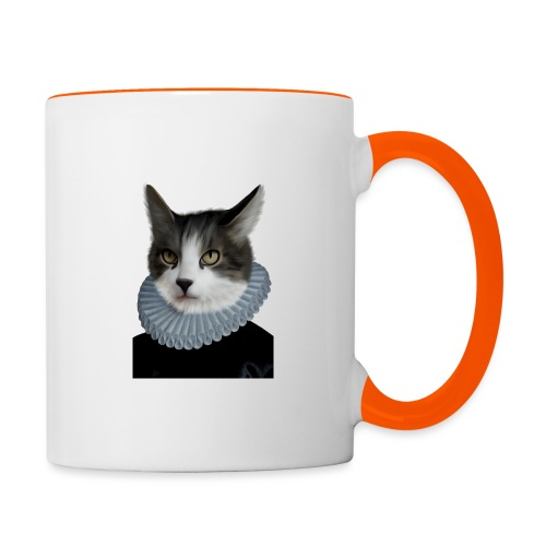Noble Cat - Tasse zweifarbig