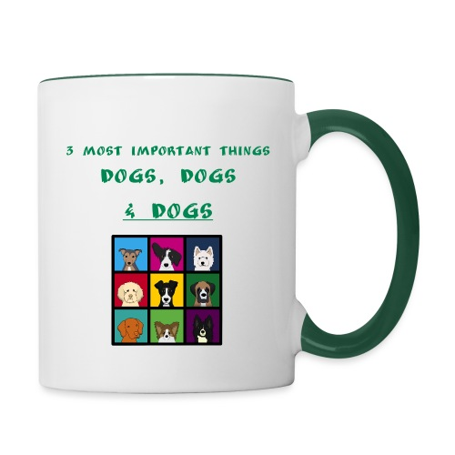 3 most important things - - Kaksivärinen muki
