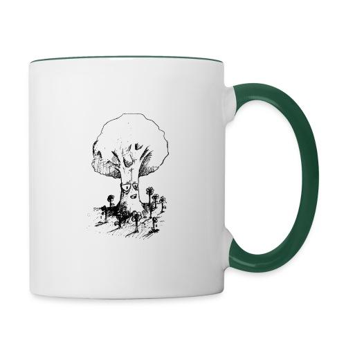 Sage Tree - Contrasting Mug