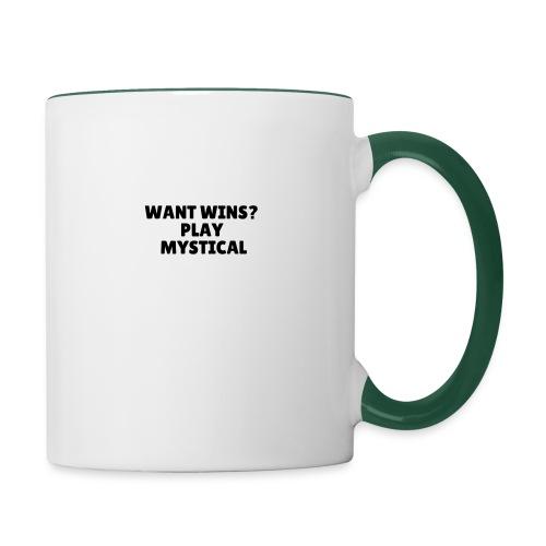 Want wins Play mystical - Tofarvet krus