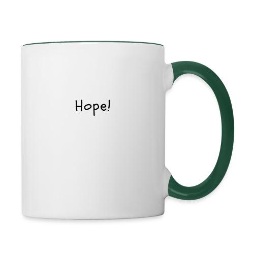 Hope - Taza en dos colores