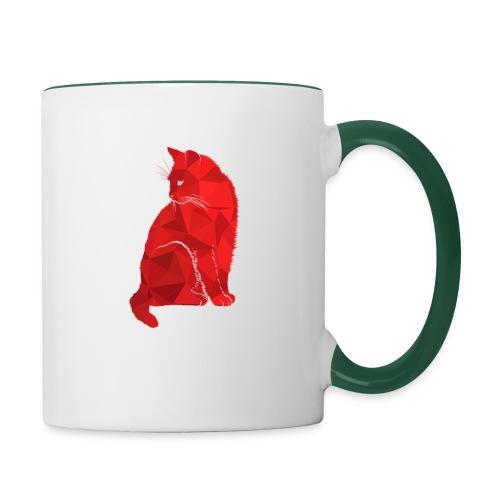 Cat - Tasse zweifarbig