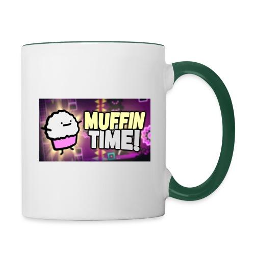 Its Muffin Time 2 - Tasse zweifarbig