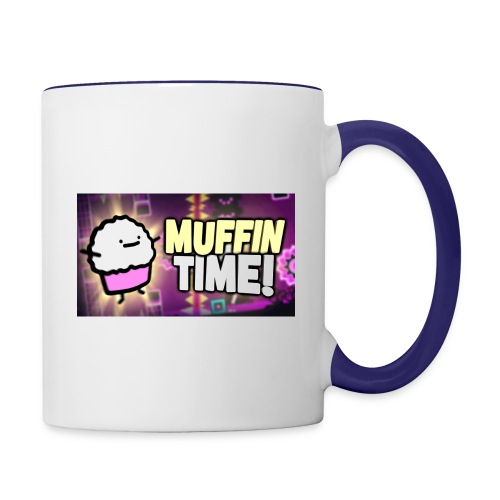 Its Muffin Time 2 - Tasse zweifarbig