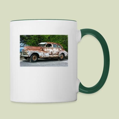 RustyCar - Kaksivärinen muki