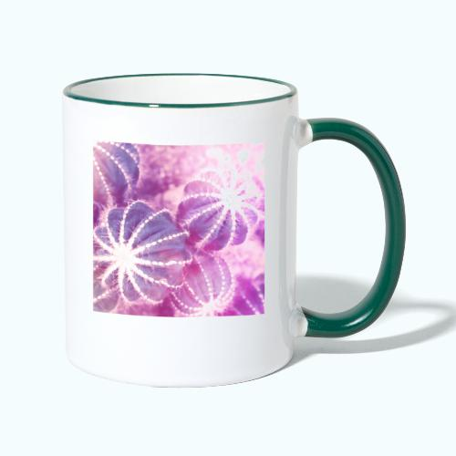 Summer cactus watercolor minimalism - Contrasting Mug