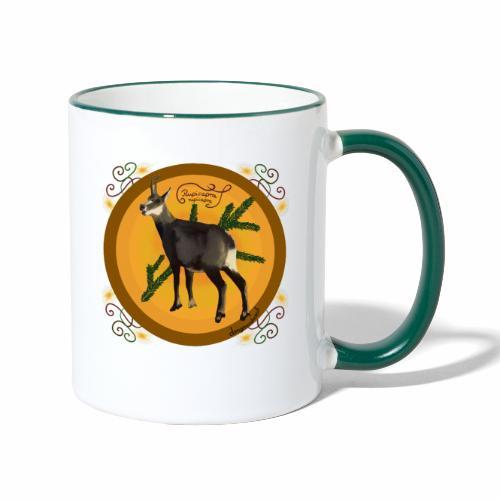 Le chamois - Mug contrasté