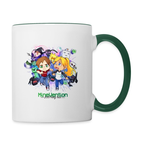 MineVention 2019 Party Tour - Contrasting Mug